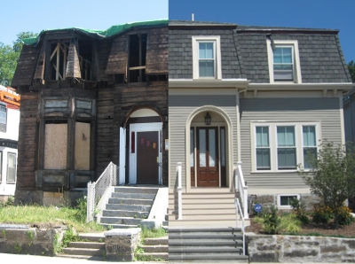 woodbine before and after