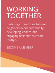 Fostering connections between neighbors in our community...