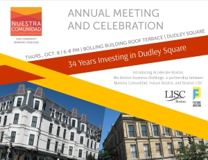 Nuestra Annual Meeting postcard LISC(2)